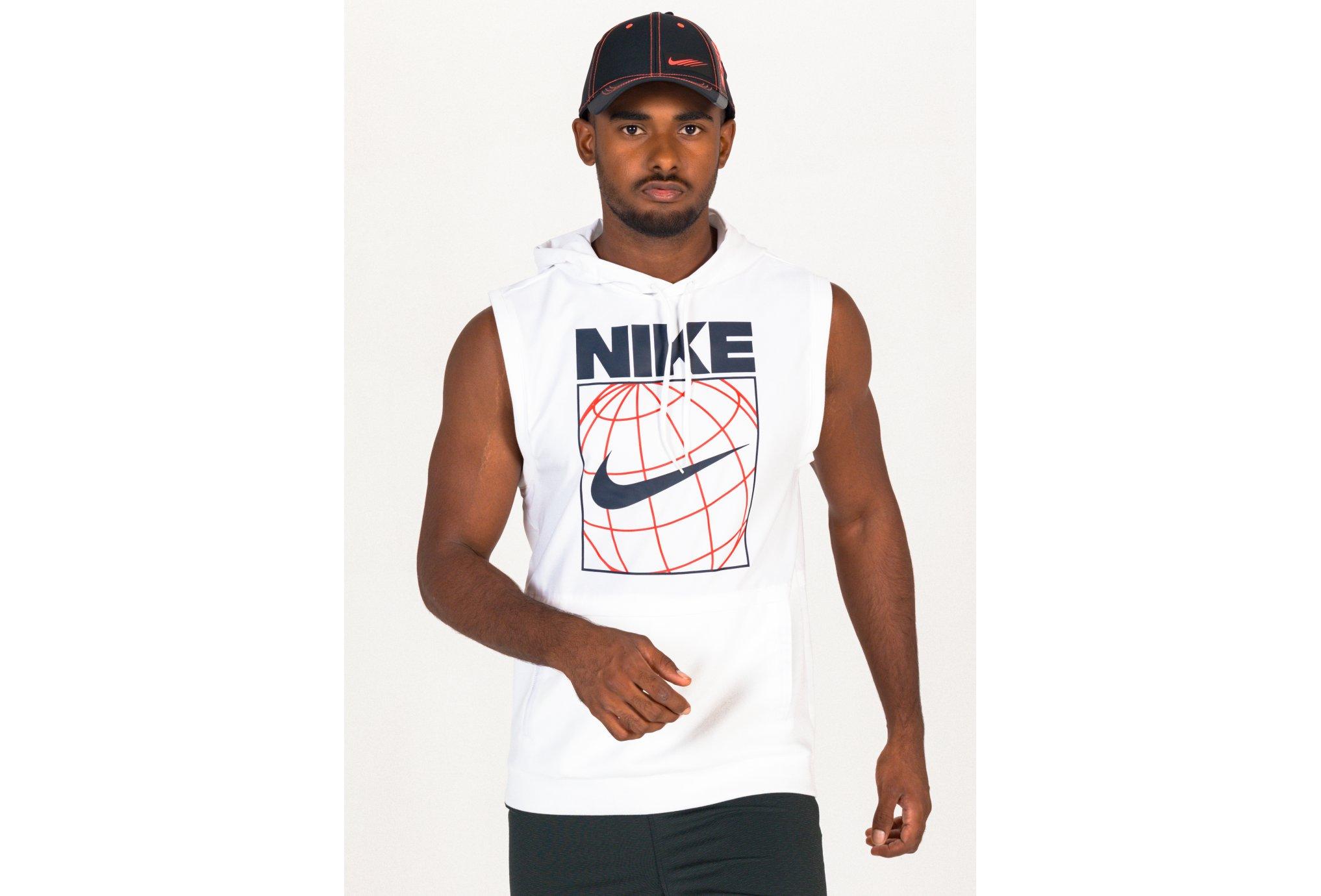 Nike Graphic Hoodie M vêtement running homme