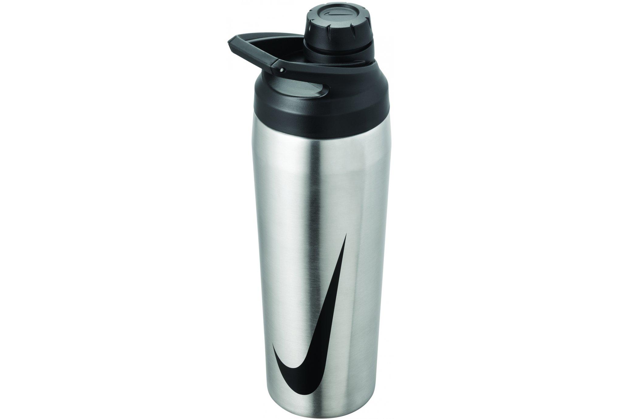 Nike Hypercharge Chug Acier 470 mL Sac hydratation / Gourde