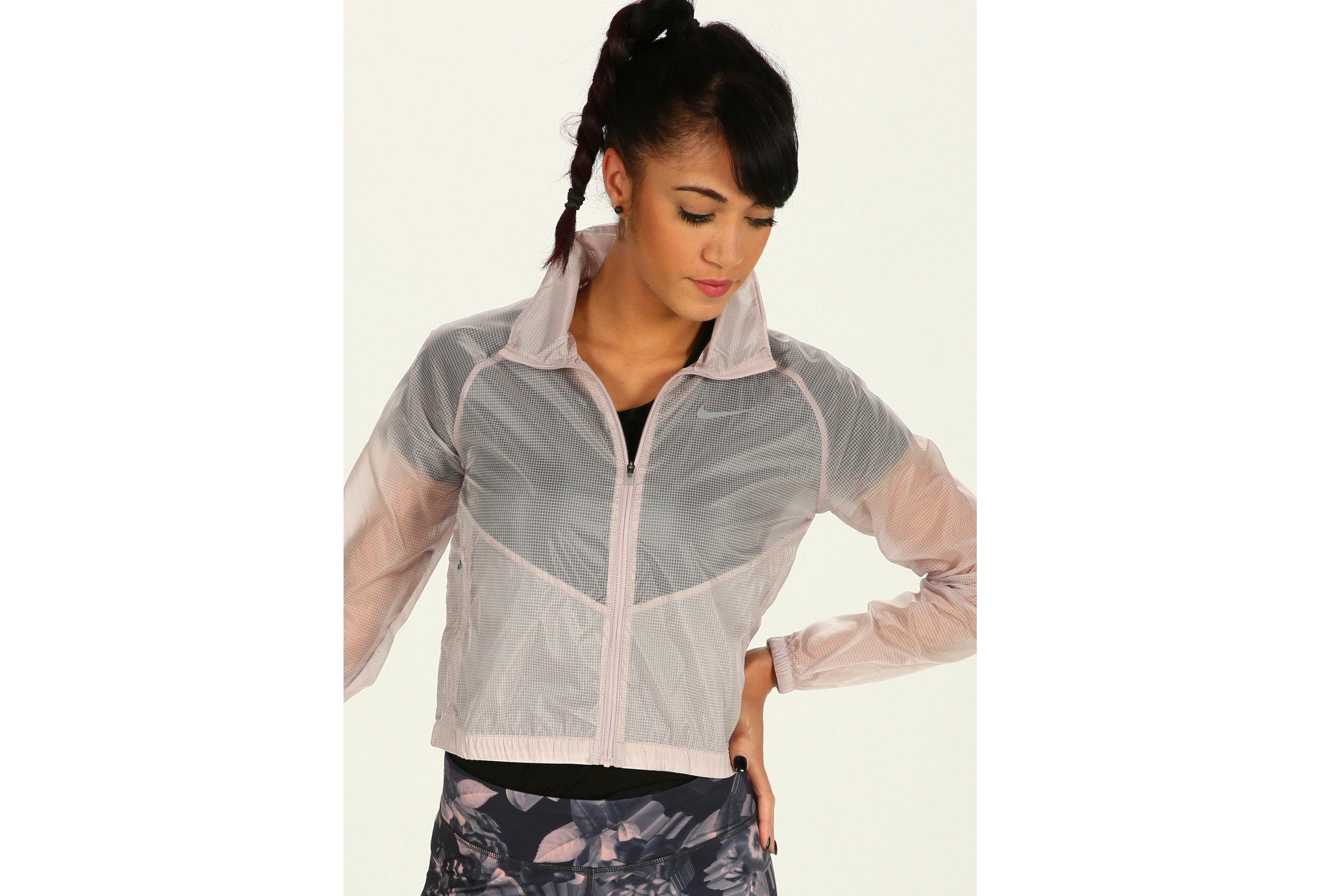 Nike Jacket Transparent W vêtement running femme