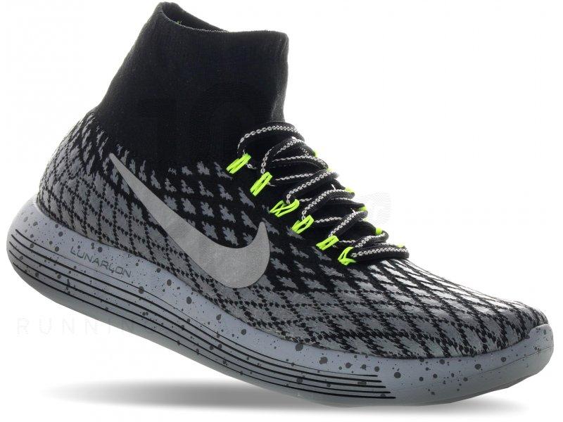 Nike LunarEpic Flyknit Shield W pas cher - Chaussures running femme running  Route & chemin en promo