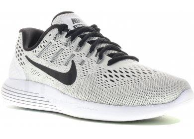 Chaussure de running Nike LunarGlide 8 pour Femme en Blanc