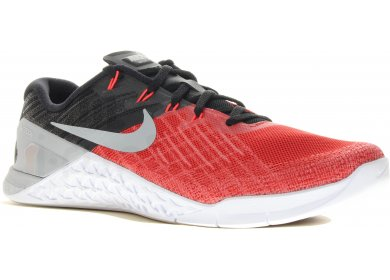 lowest price 167e1 4b38f Nike Metcon 3 M homme Rouge pas cher