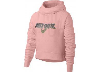 e5e7364e44 Nike Modern Hoodie Fille femme Rose pas cher