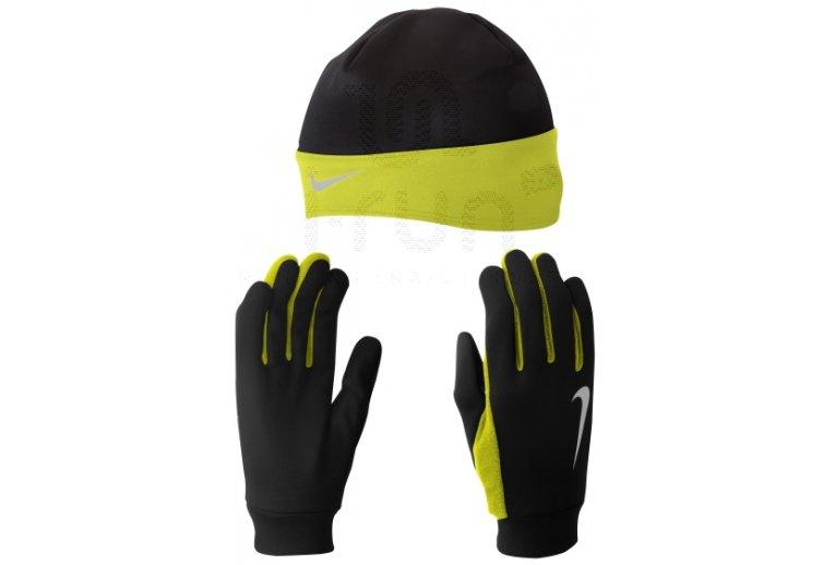 c6545d389b1ba Nike Pack Gorro + Guantes Dri-Fit
