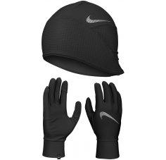 Nike Pack Dry Lightweight Fleece bonnet + gants  M