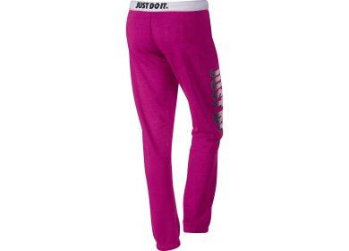 263c0b44a8 Nike Pantalon de jogging Rally Just Do It W femme Rose pas cher