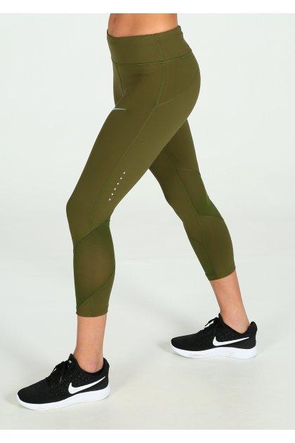 Nike Malla corsario Power Epic Lux Crop Mesh