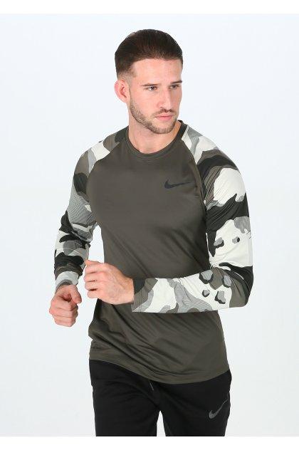 Nike camiseta manga larga Pro Camo
