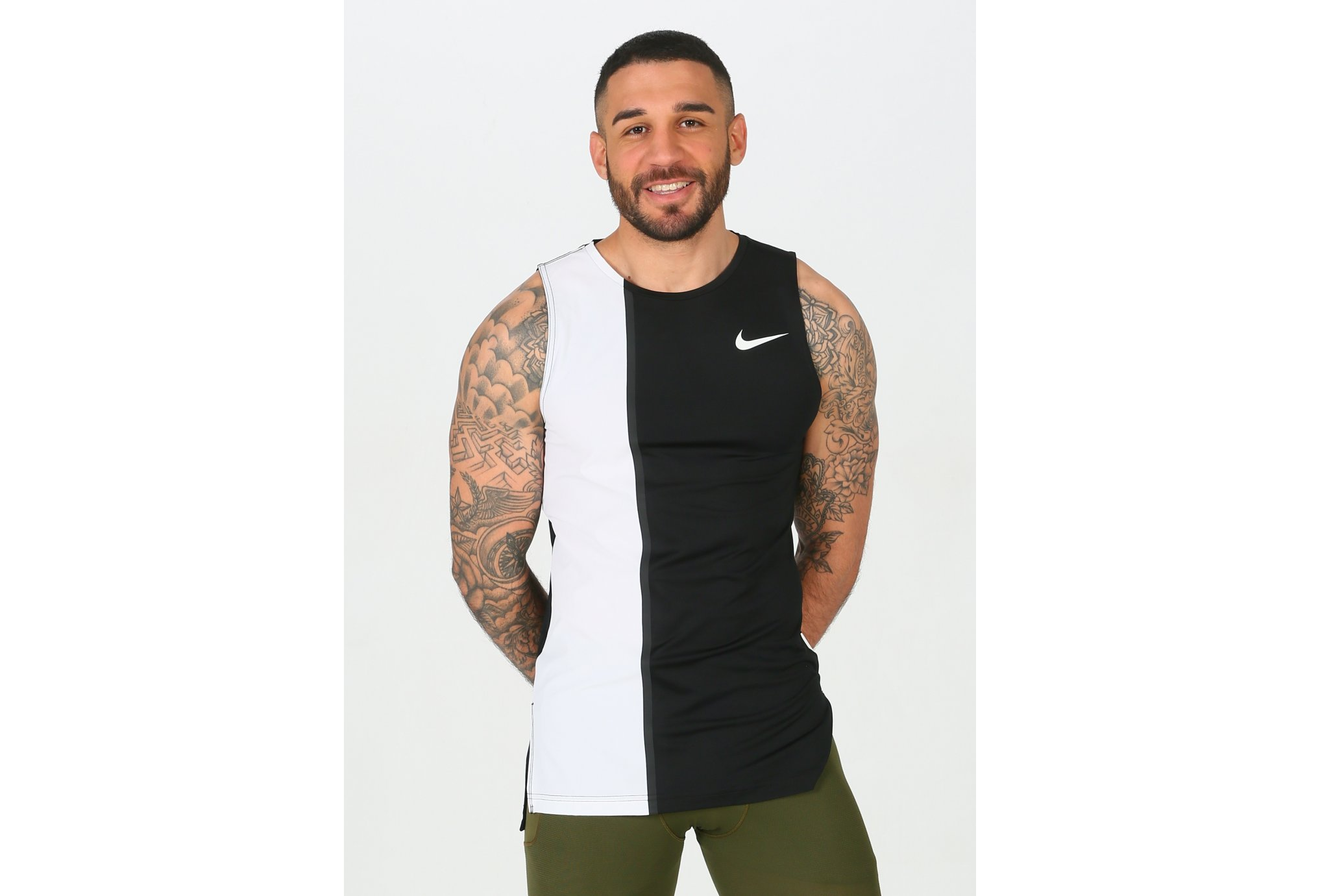 Nike Pro Fitted M vêtement running homme