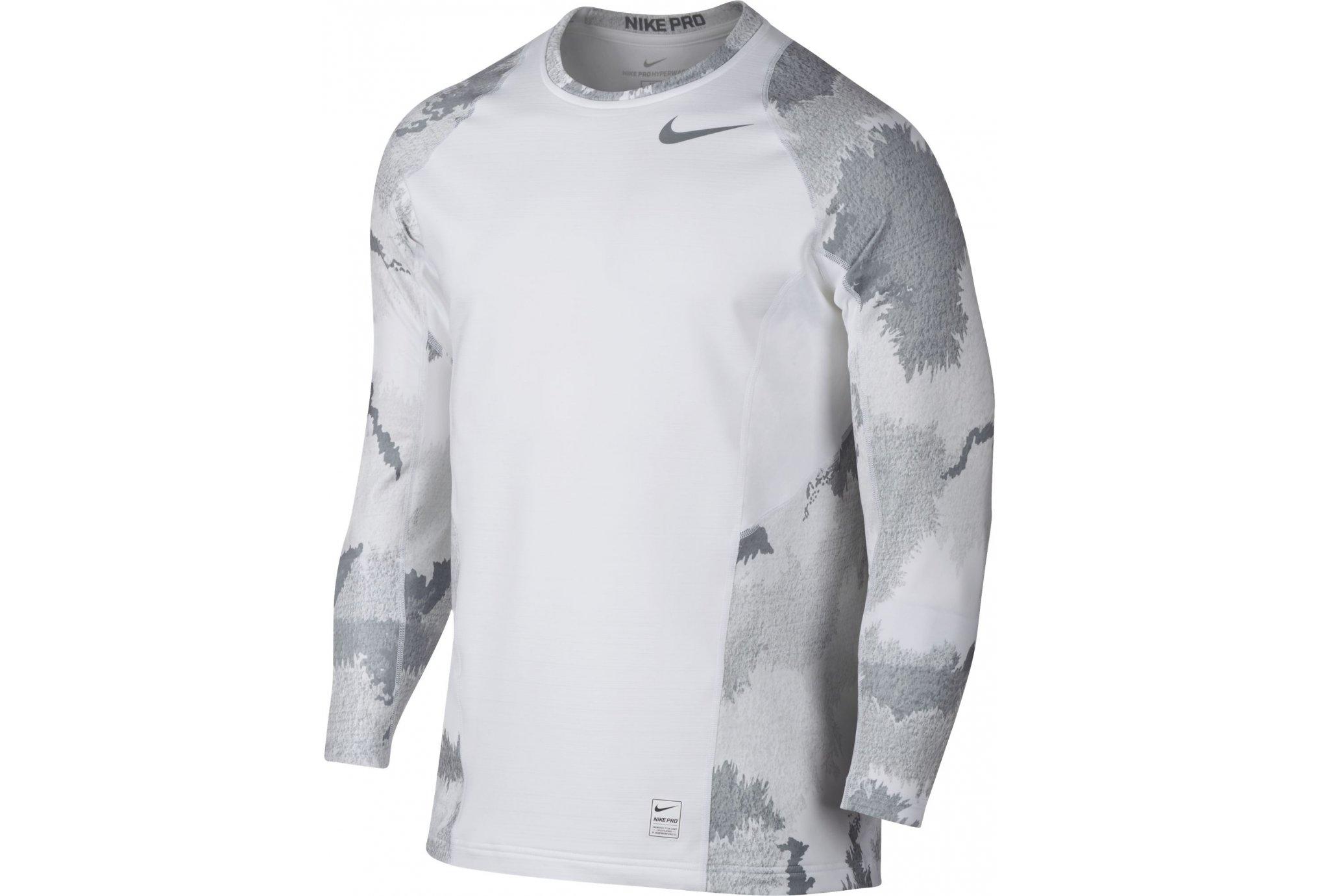 Trail Session - Nike Pro Hyperwarm Top M Diététique Vêtements homme 13b4fa580f93