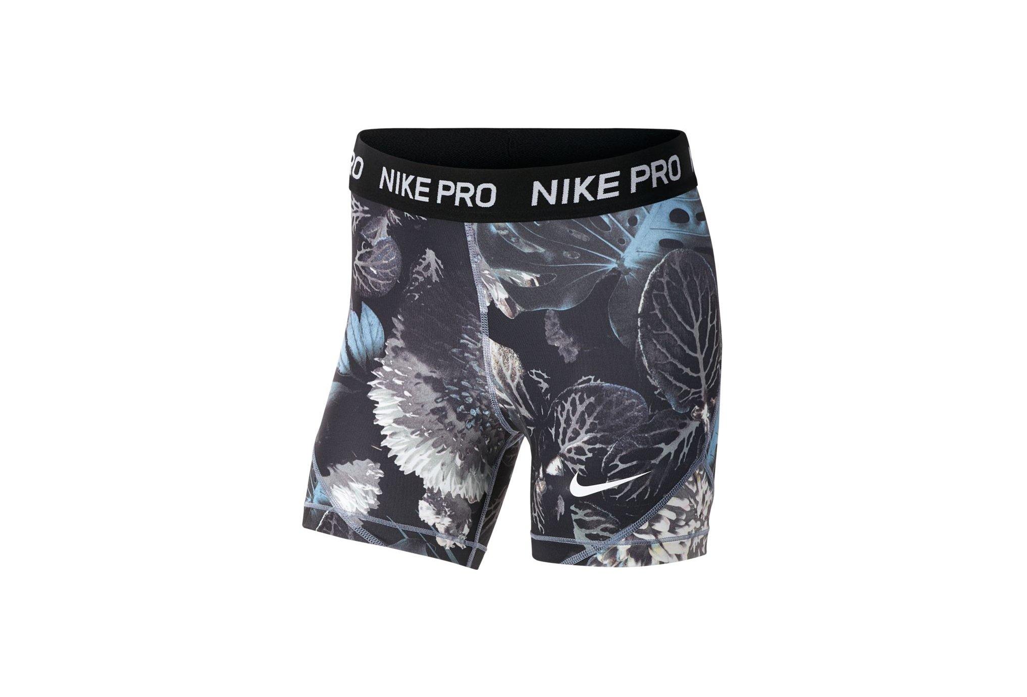 Nike mallas cortas Pro Printed vêtement running femme