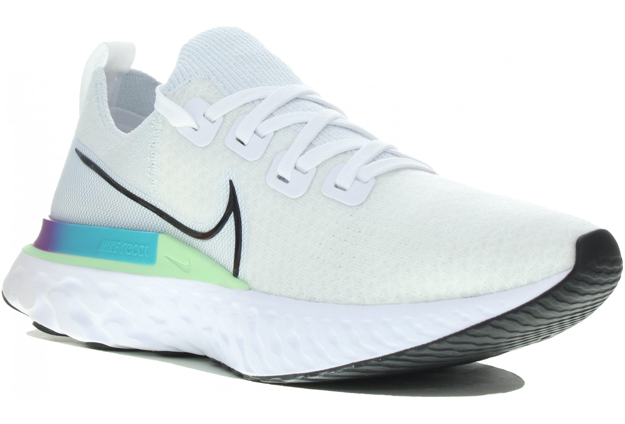 Nike React Infinity Run Flyknit M Diététique Chaussures homme