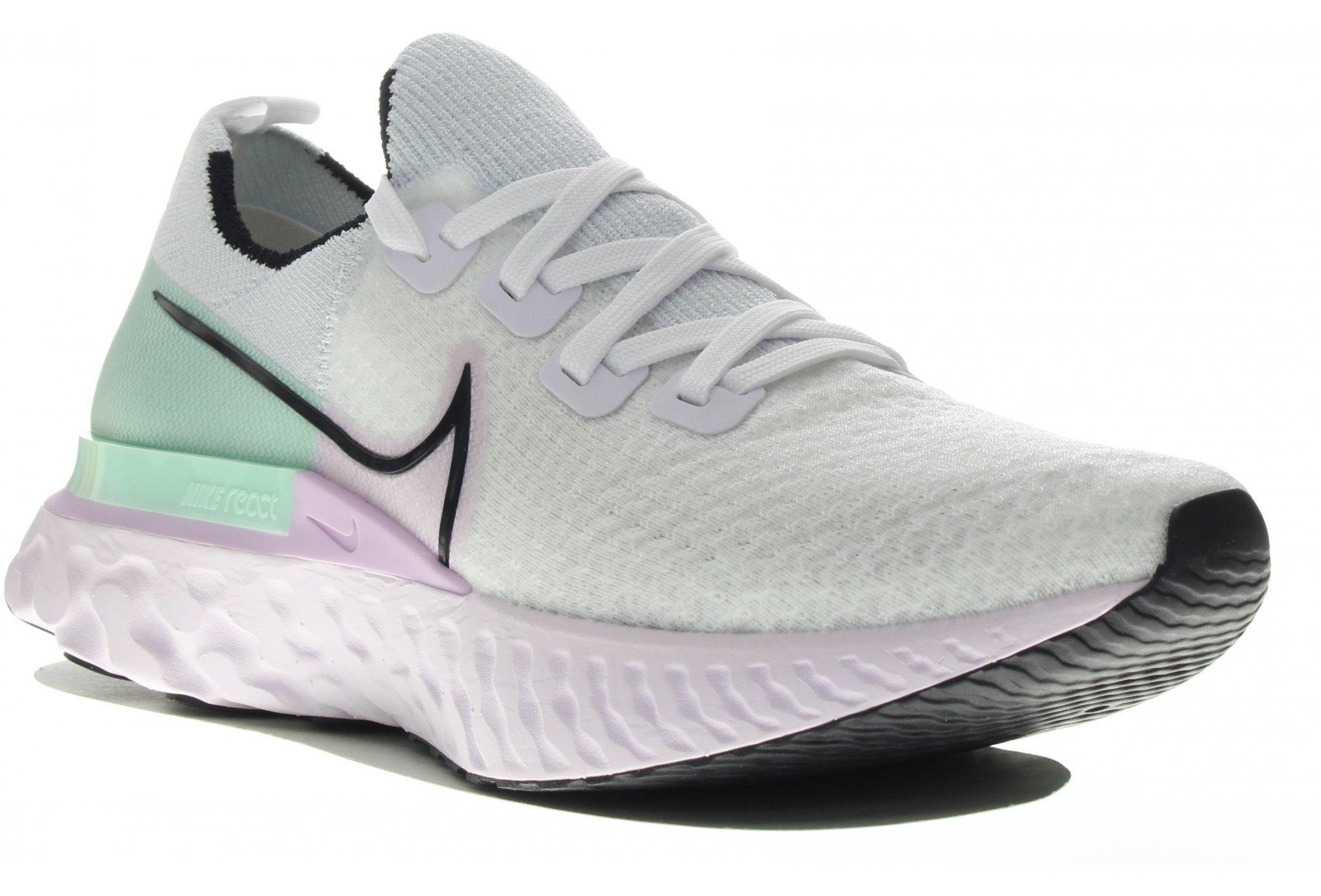 Nike React Infinity Run Flyknit Chaussures running femme