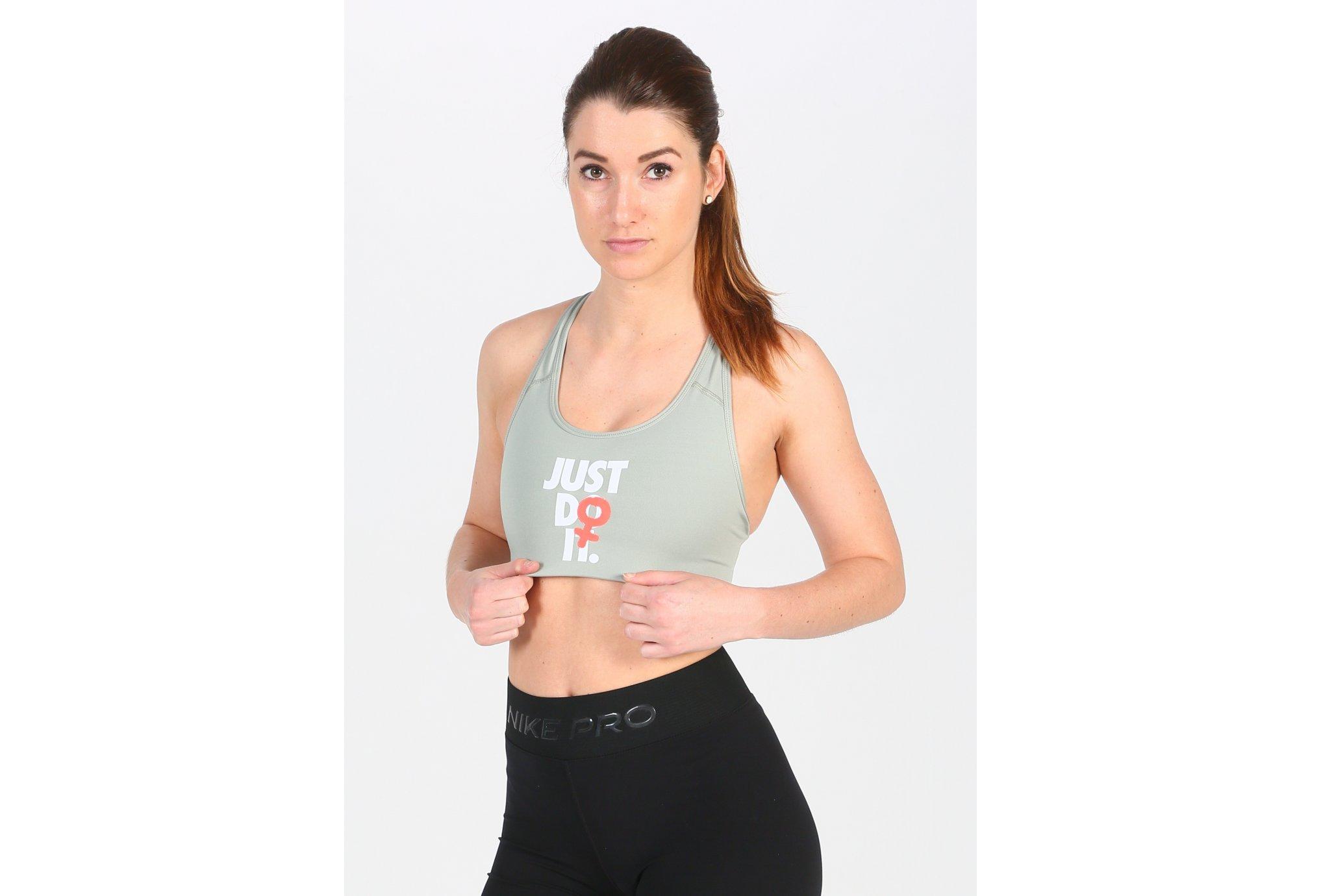 Nike Rebel Swoosh Just Do It vêtement running femme