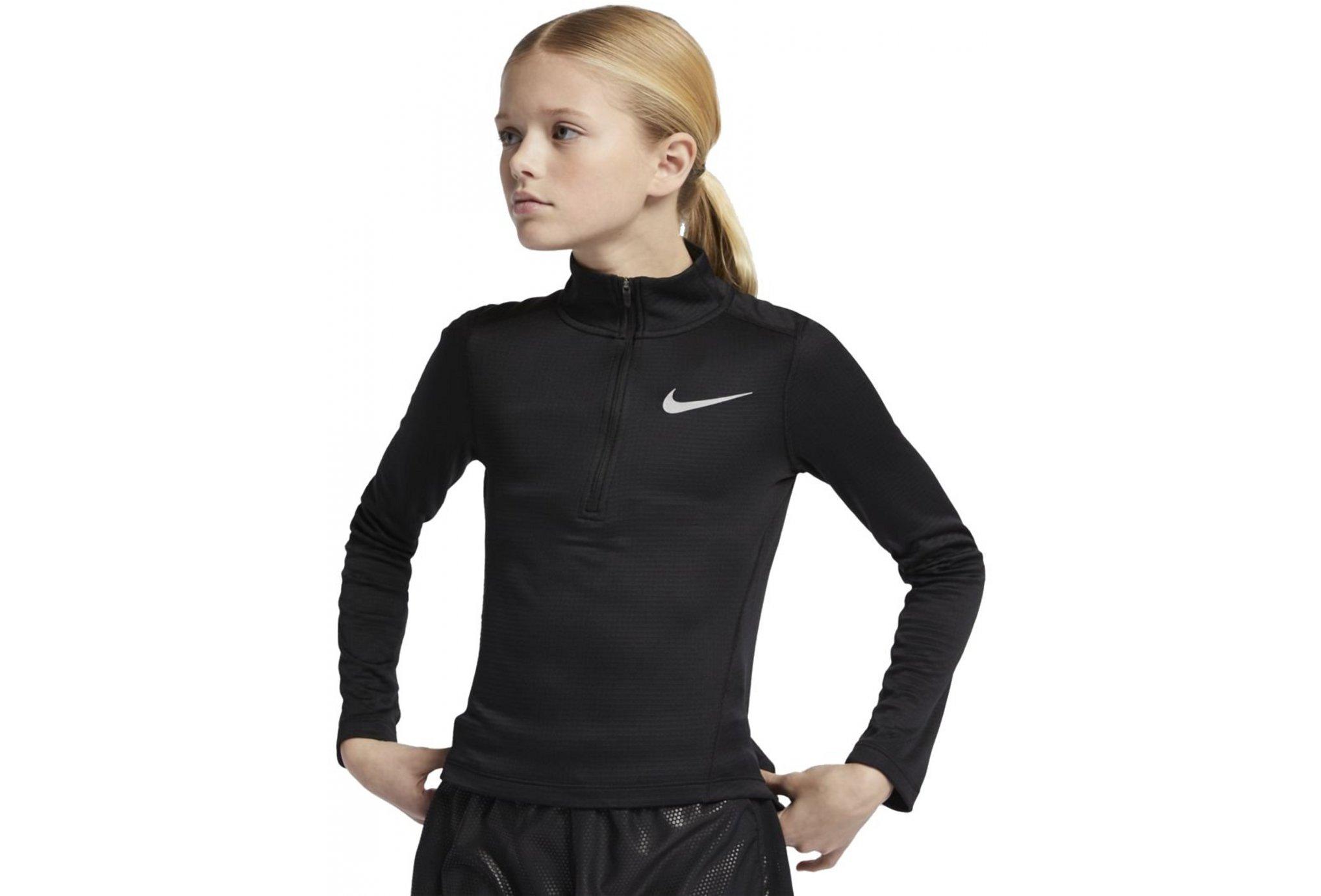Nike Run 1/2 zip Fille vêtement running femme