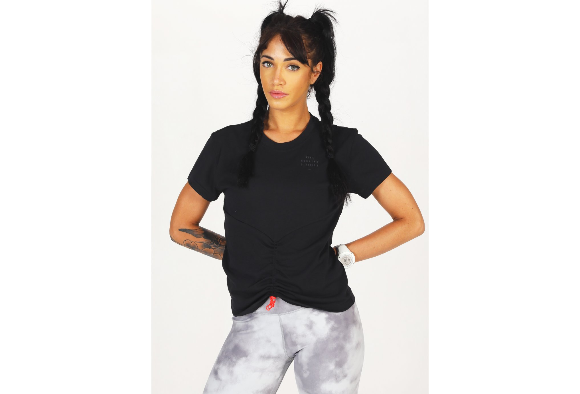 Nike Run Division Ruched W vêtement running femme