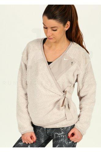 Nike Sherpa Top Wrap W