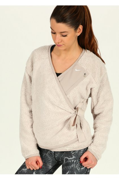 Nike Chaqueta Sherpa Top Wrap