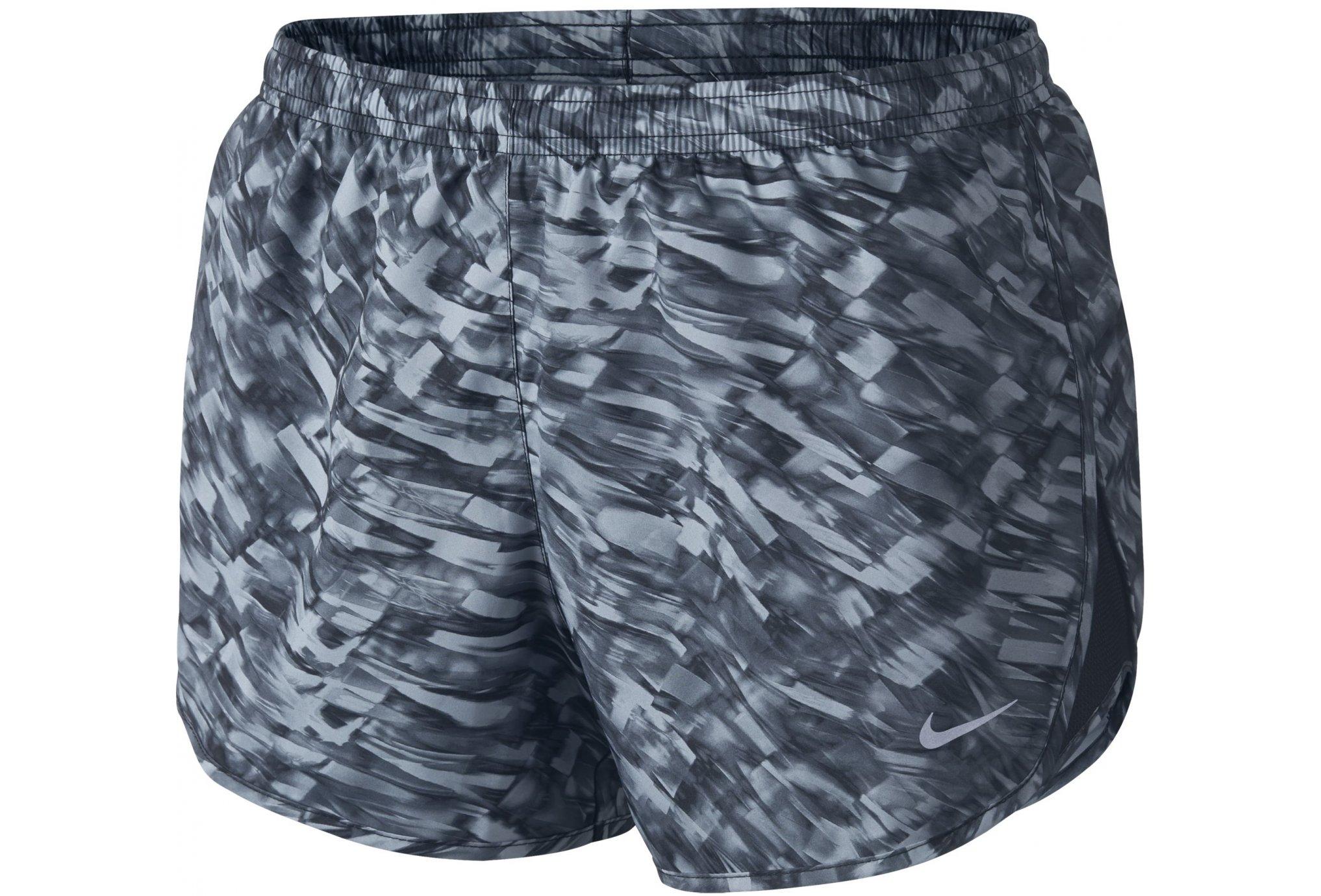 Nike Short Printed Modern Tempo W Diététique Vêtements femme
