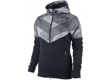 Nike Sweat shirt à capuche zippé Fanatic W
