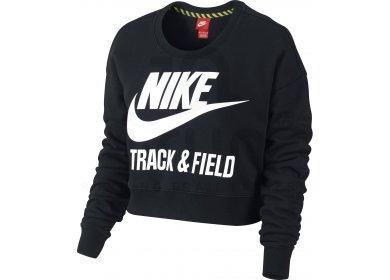 Nike Sweat Track Field Crew W Pas Cher Vêtements Femme Running