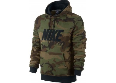 pull capuche homme nike militaire