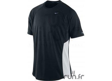 Cher Pas Uv Fit Nike s Et Blanc Vêtements T Noir Homme Dri Miler 29WHEDI