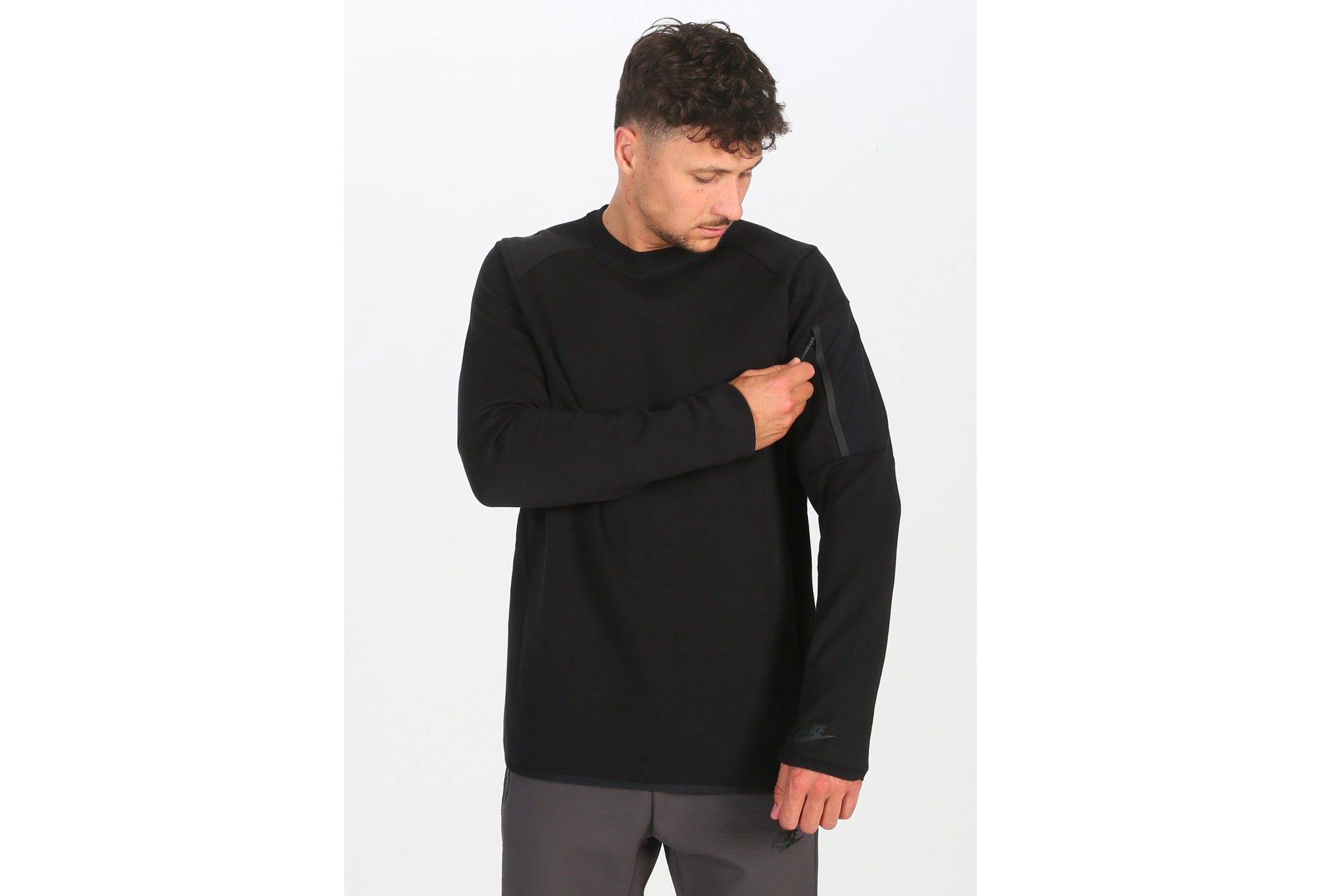 Nike Tech Fleece Crew M vêtement running homme