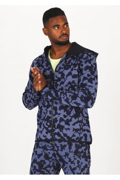 Nike chaqueta Tech Fleece Hoodie AOP