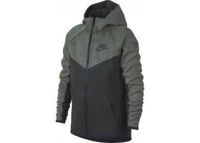 499c22c163e6 Nike Tech Fleece Windrunner Junior homme Gris argent pas cher