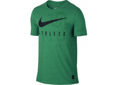 Nike Tee Shirt Dri Fit Blend Mesh Swoosh Athlete M