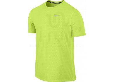 Nike Tee-Shirt Dri-Fit Contour M pas cher - Destockage running ... 1c799bdcc1c1