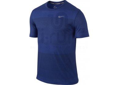 tee shirt homme nike bleu