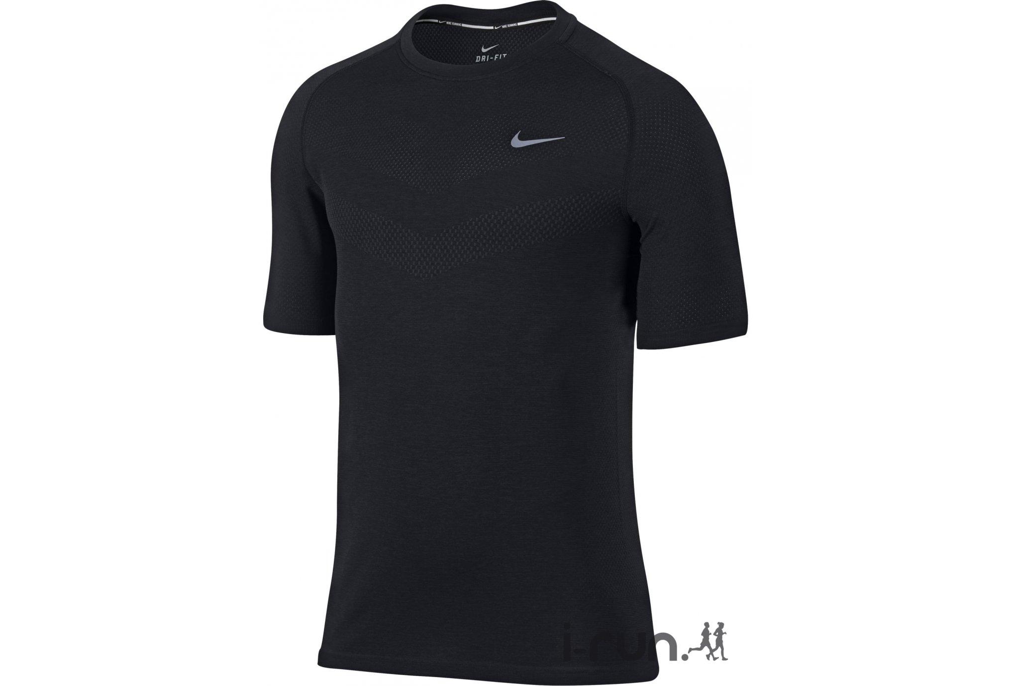 pas mal 94ca1 5d1ad Trail Session - Nike Tee-Shirt Dri-Fit Knit M vêtement ...