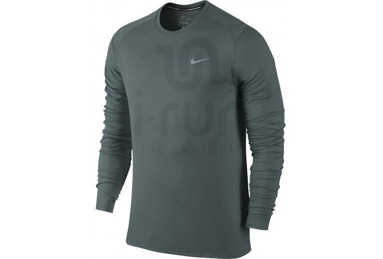 7aafa658d8a44 Nike Camiseta manga larga Dri-Fit Miler en promoción