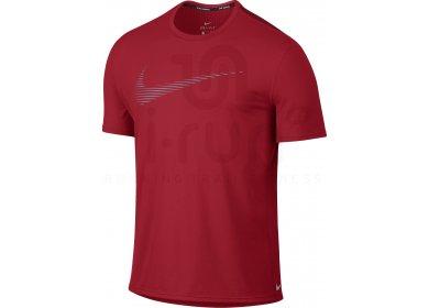 Nike Tee-Shirt Dry Logo Contour M pas cher - Destockage running ... 11fcabab8cb4