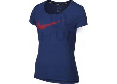 Nike Tee-Shirt Dry Logo Contour W pas cher - Destockage running ... 678e7e9c9dca