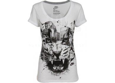 c208cc8a7fec Nike Tee-shirt Jungle scoop W femme pas cher
