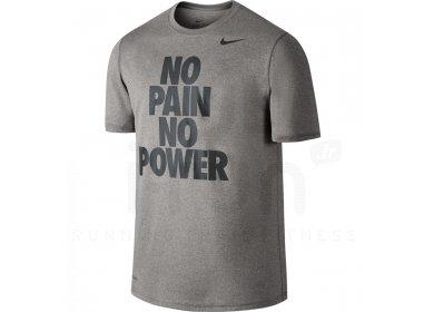 t-shirt nike homme no pain no game