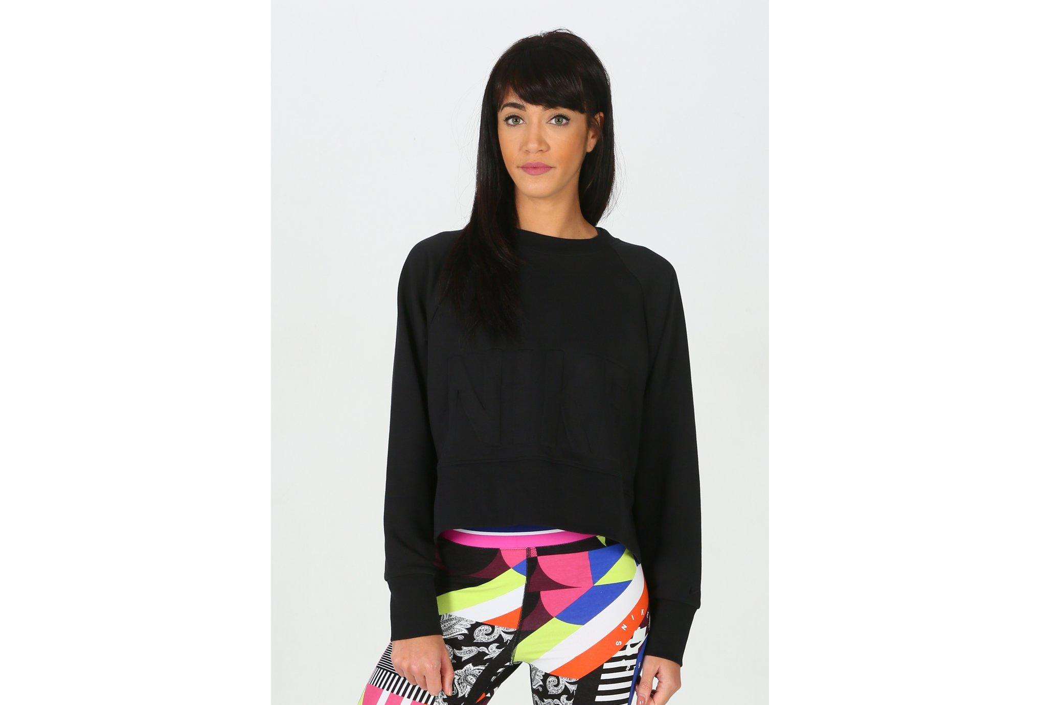 Nike Top Versa Crew W Diététique Vêtements femme