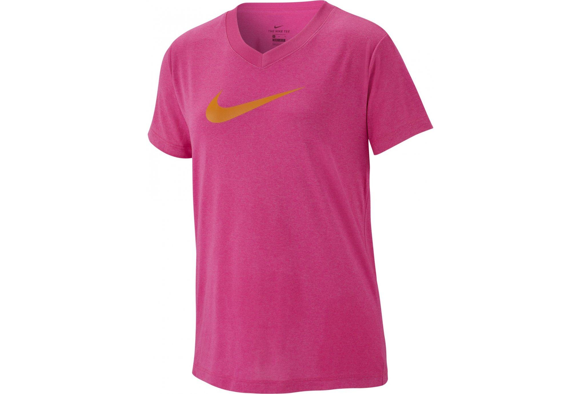 Nike V-Neck Swoosh Fille vêtement running femme