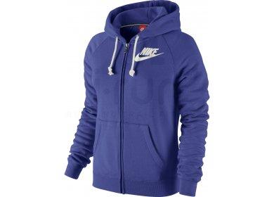 Sportswear Nike NSW Rally Hoodie FZ W Metallic Veste Femme