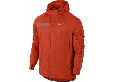 Veste de running Shield Nike en orange pour vêtements homme