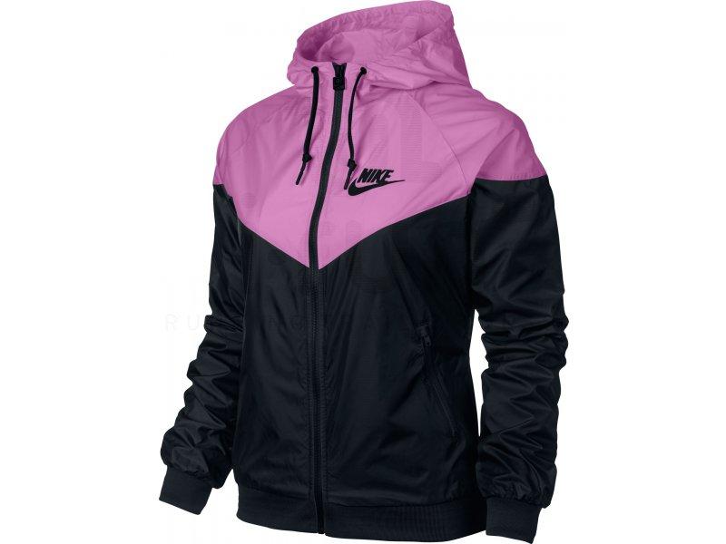 Nike Veste Windrunner W femme Rose pas cher