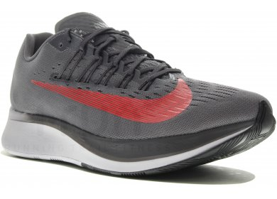 f27536643a0 Nike Zoom Fly M homme Gris argent pas cher
