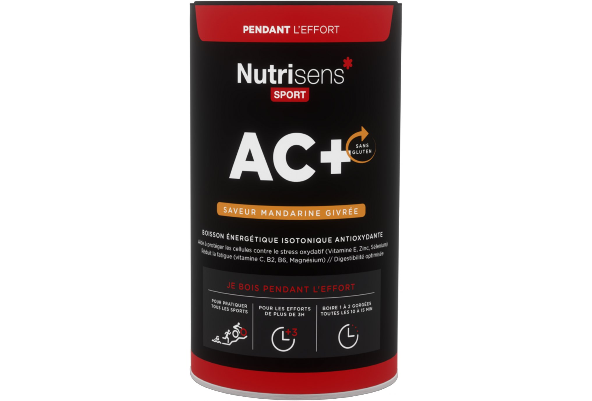 Nutrisens Sport ac+ - mandarine givrée diététique boissons