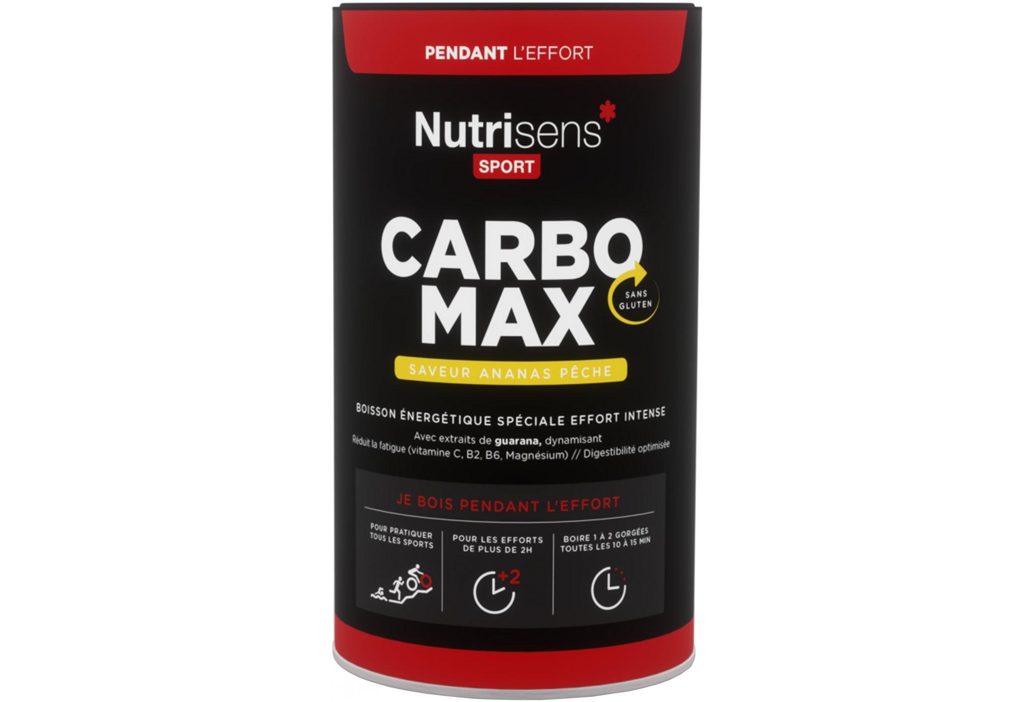 Nutrisens Sport CarboMax - Piña/Melocotón Diététique Boissons