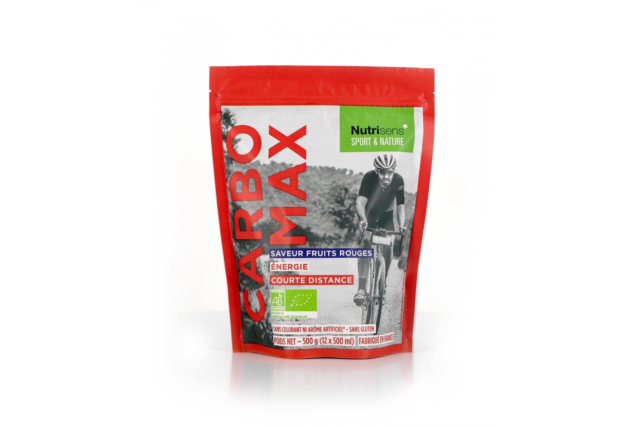 Nutrisens Sport CarboMax Bio - Fruits rouges Diététique Boissons