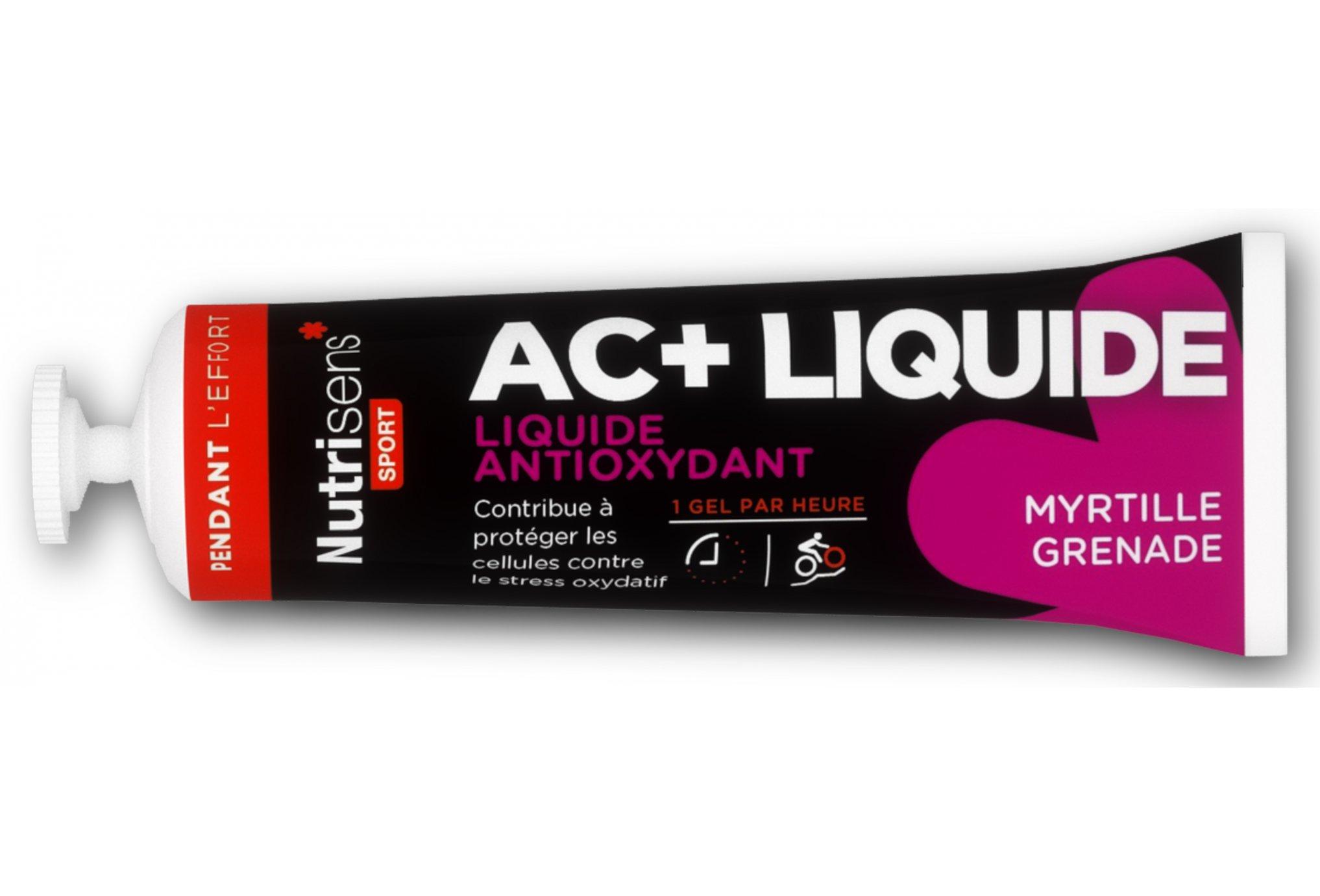 Nutrisens Sport Gel AC+ Anti-oxydant Liquide - Myrtille/Grenade Diététique Gels
