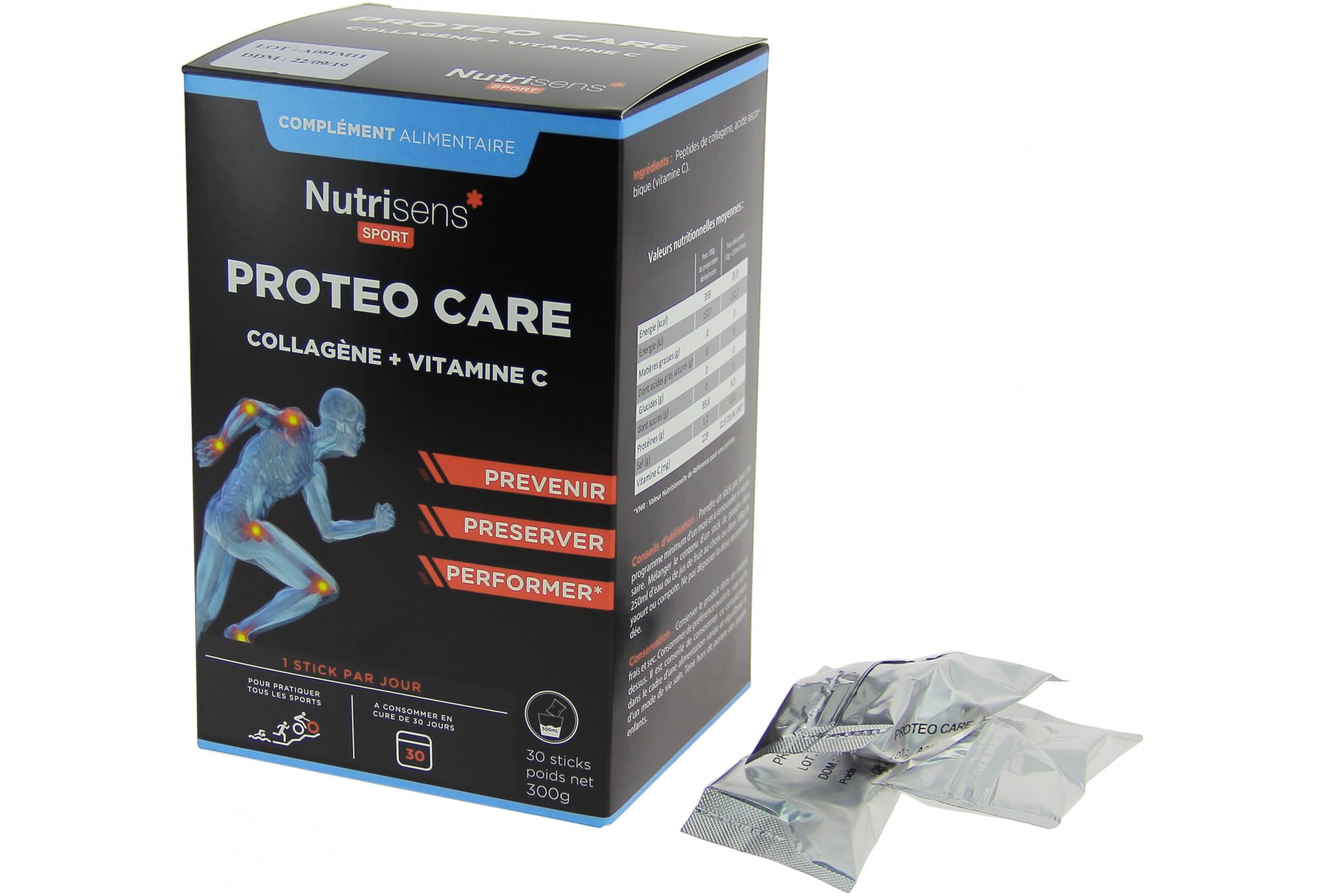 Nutrisens Sport proteo care diététique compléments